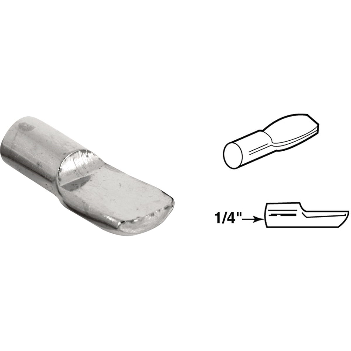 NICKEL SHELF PEG - 243363 by Prime Line Products