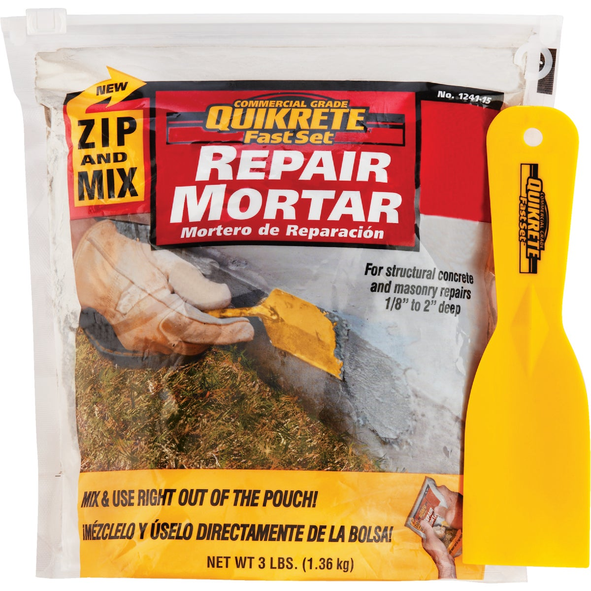 3Lb Zip & Mix Rpr Mortar