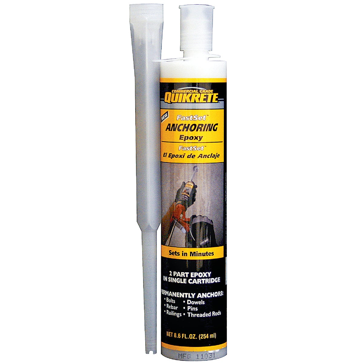 8.6OZ FS ANCHORING EPOXY - 8620-30 by Quikrete Co
