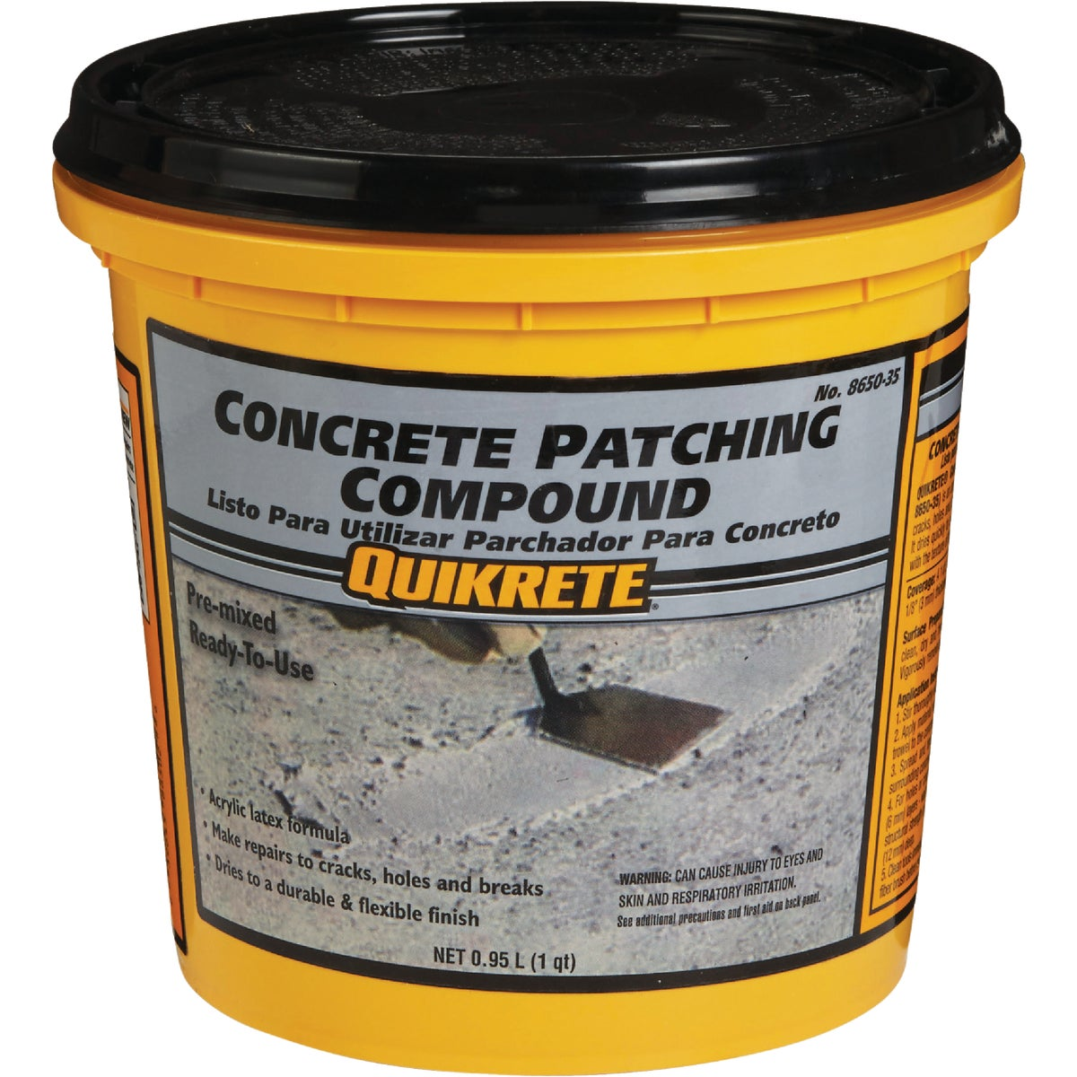 QT CONCRT PATCH COMPOUND - 8650-35 by Quikrete Co