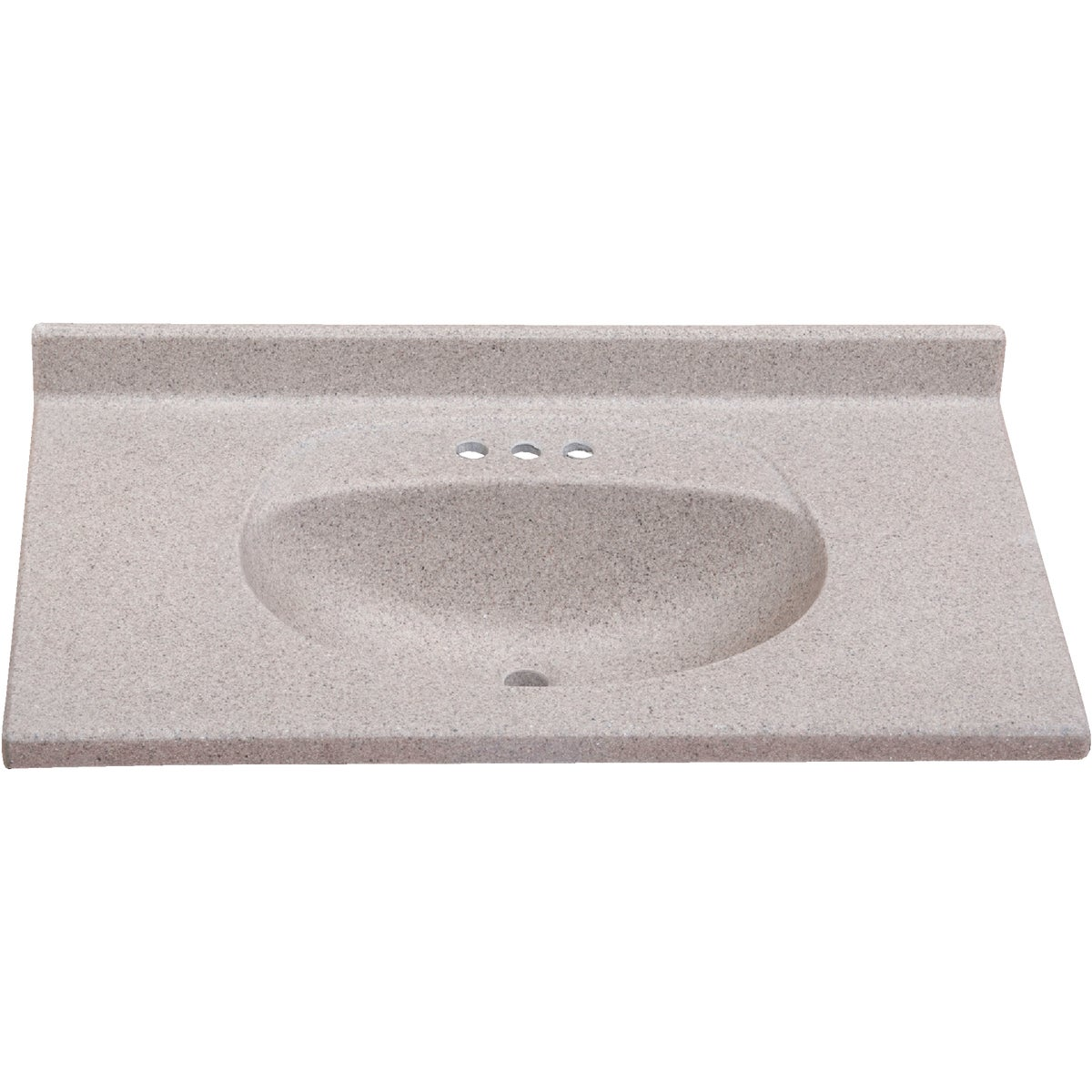 37X22 CAP OLY VANITY TOP - VB3722CAPSS by Imperial Marble Corp