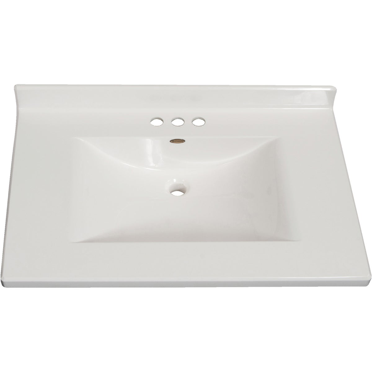 31X22 WHT WVE VANITY TOP - VW3122SPW by Imperial Marble Corp
