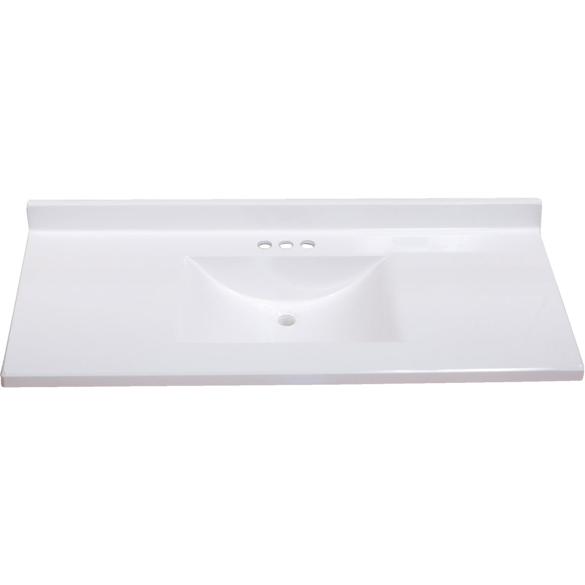 49X22 WHT WVE VANITY TOP - VW4922SPW by Imperial Marble Corp