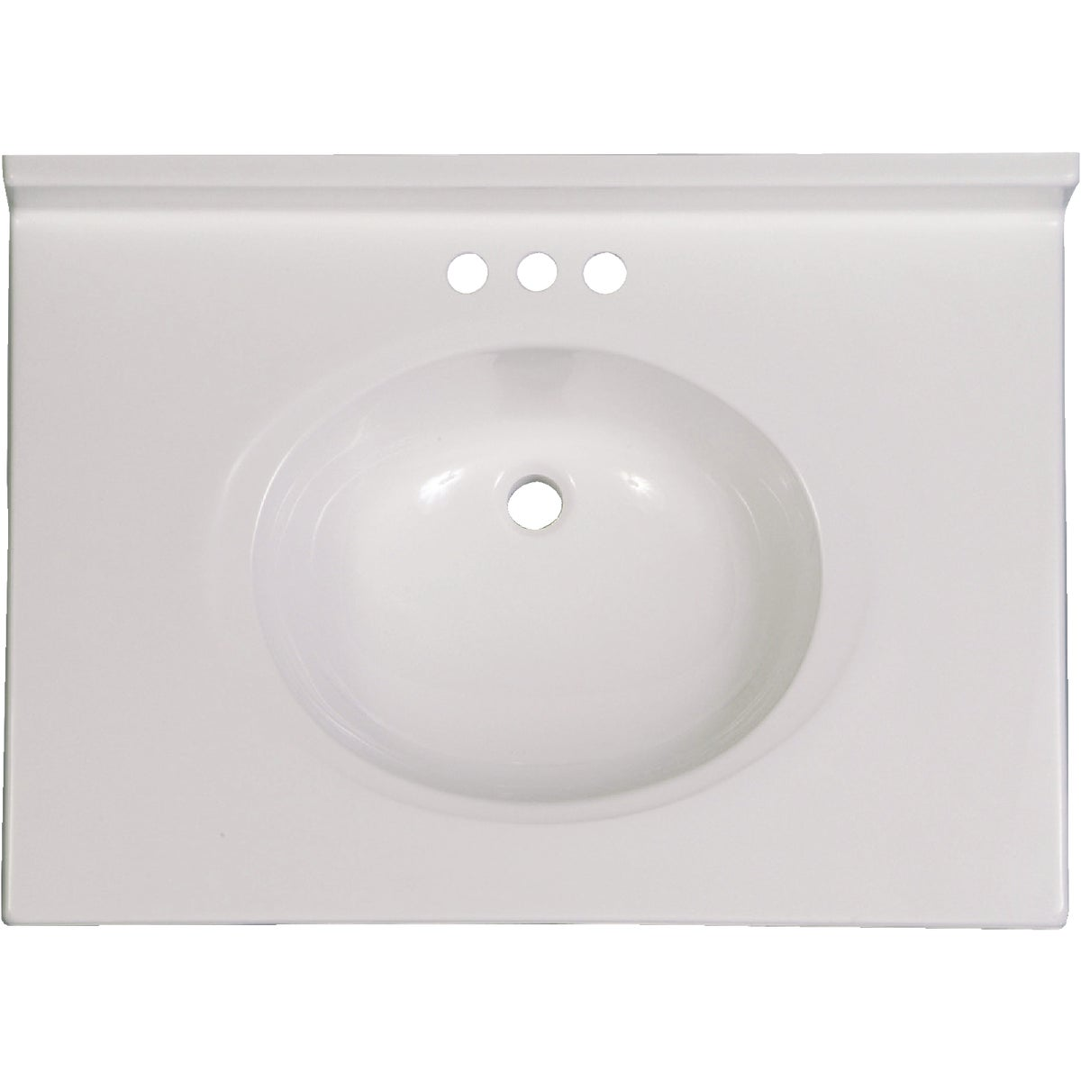 31X22 WHT VANITY TOP - VC3122SPW by Imperial Marble Corp