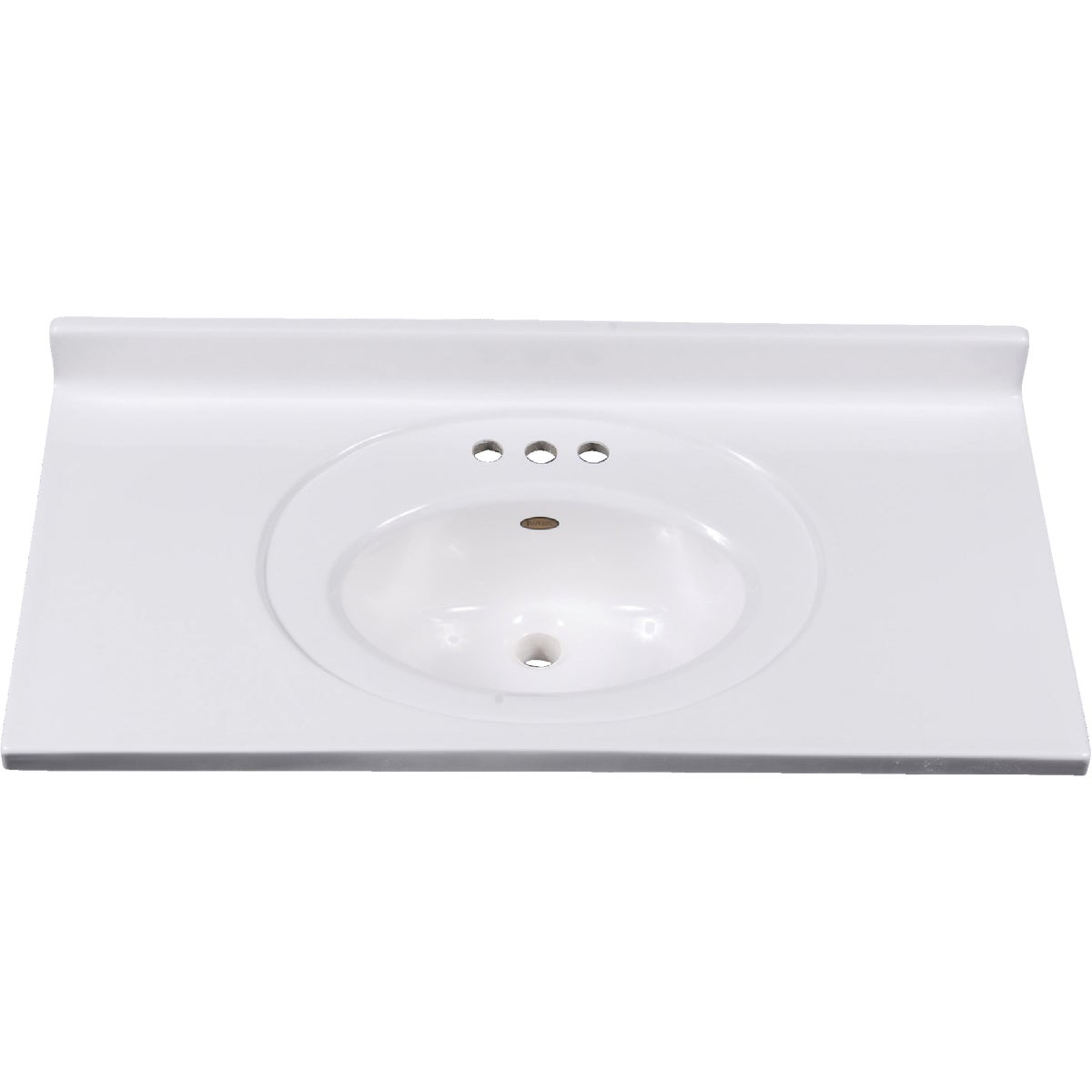 31X19 WHT VANITY TOP - VS3119SPW by Imperial Marble Corp