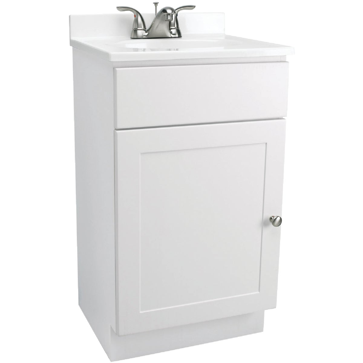 WHITE COMBO VANITY - 541599 by Design House  Dhi