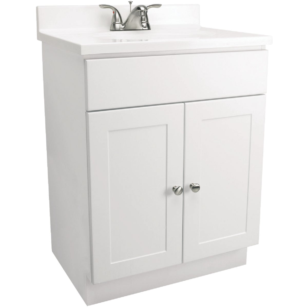WHITE COMBO VANITY - 541607 by Design House  Dhi