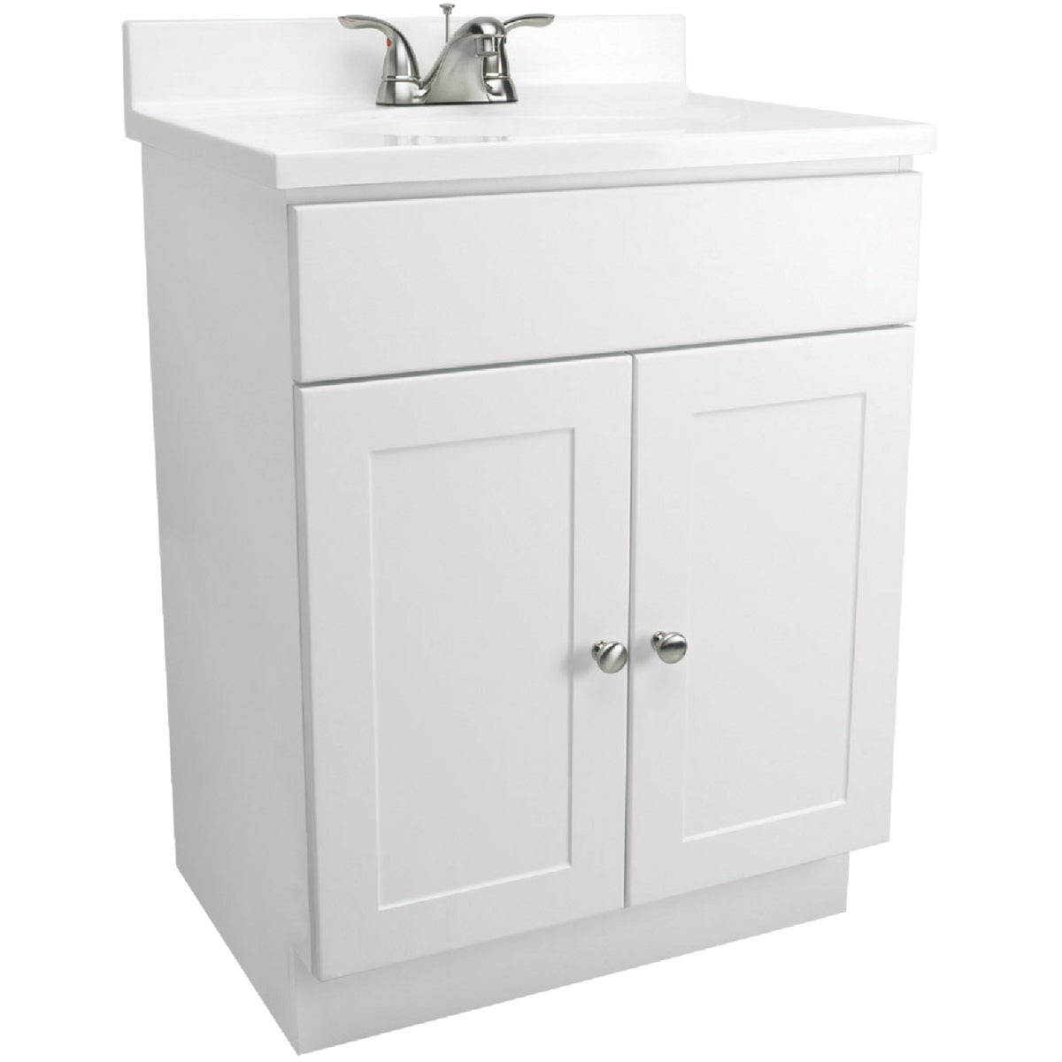 WHITE COMBO VANITY - 541615 by Design House  Dhi