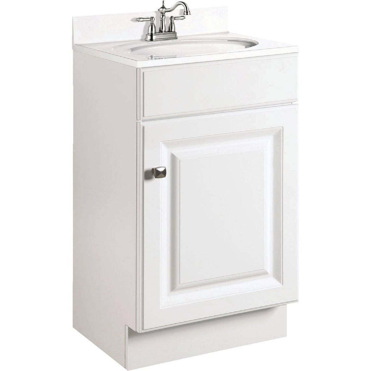 18X16 WHITE VANITY - 531723 by Design House  Dhi