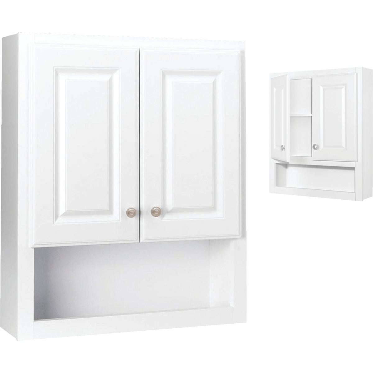 WHITE WALL CABINET - 531715 by Design House  Dhi