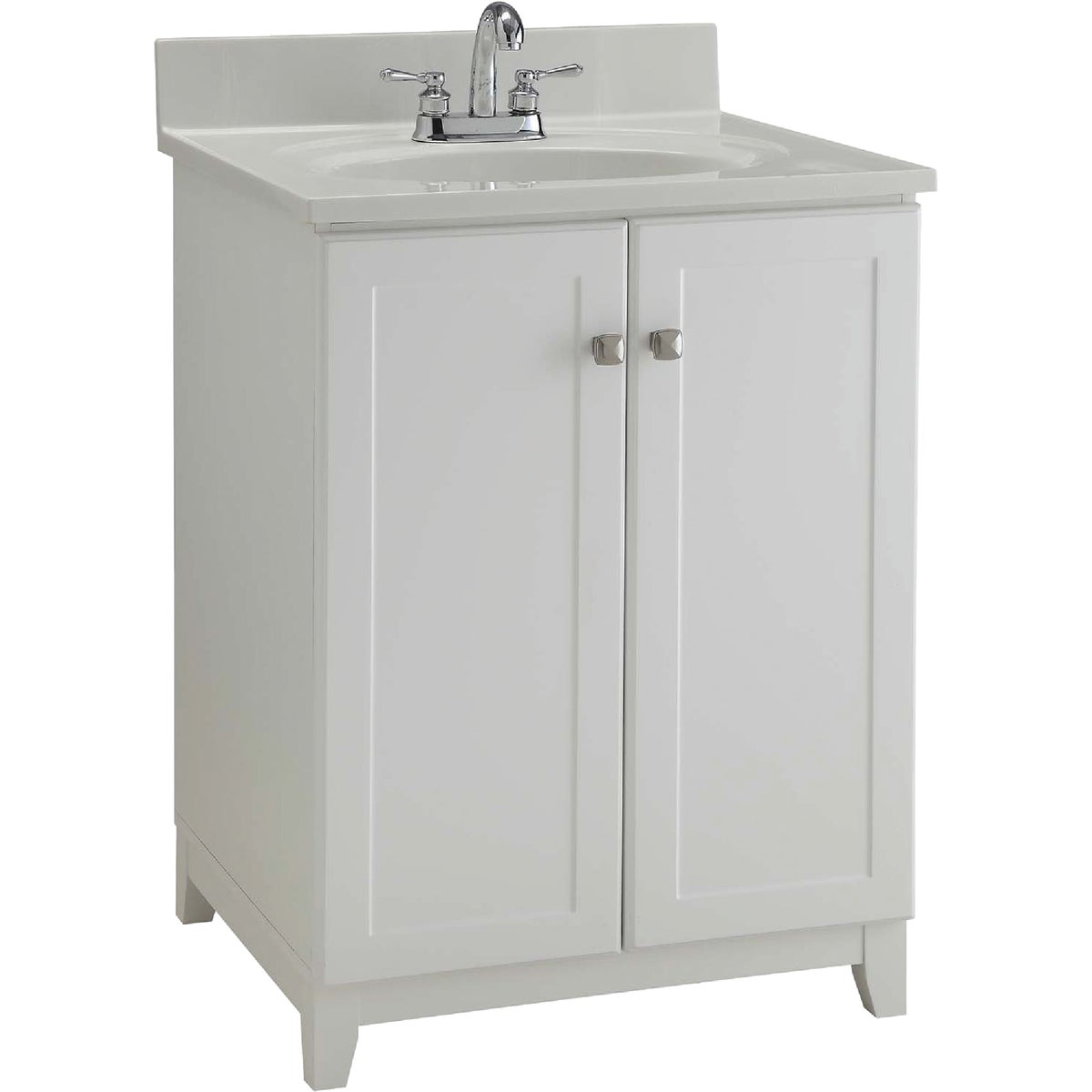 24X21 WHITE VANITY - 545053 by Design House  Dhi
