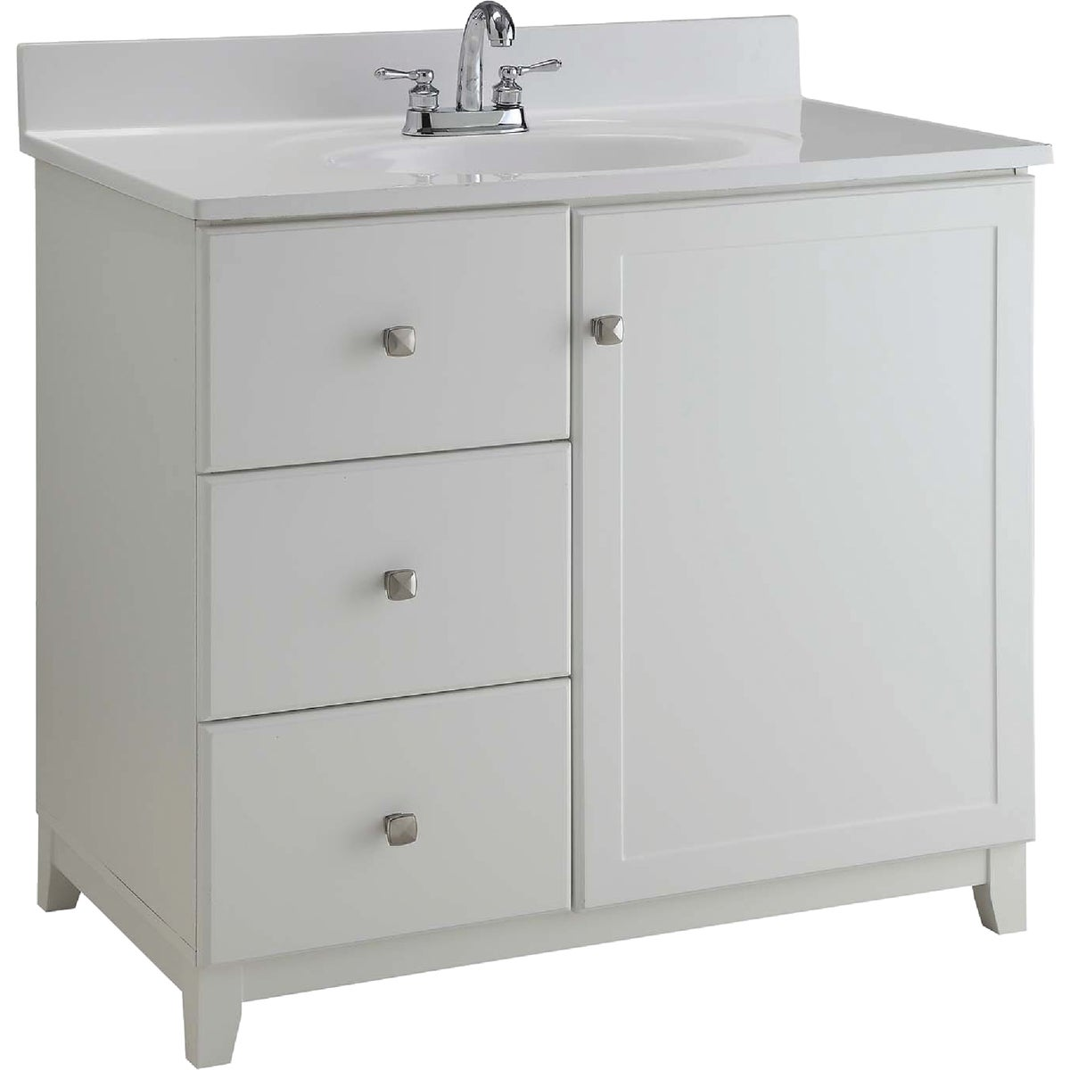 30X21 WHITE VANITY - 545079 by Design House  Dhi