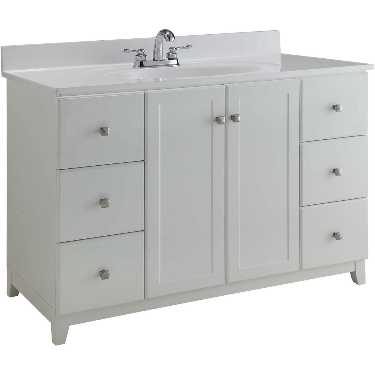 48X21 WHITE VANITY - 531145 by Design House  Dhi