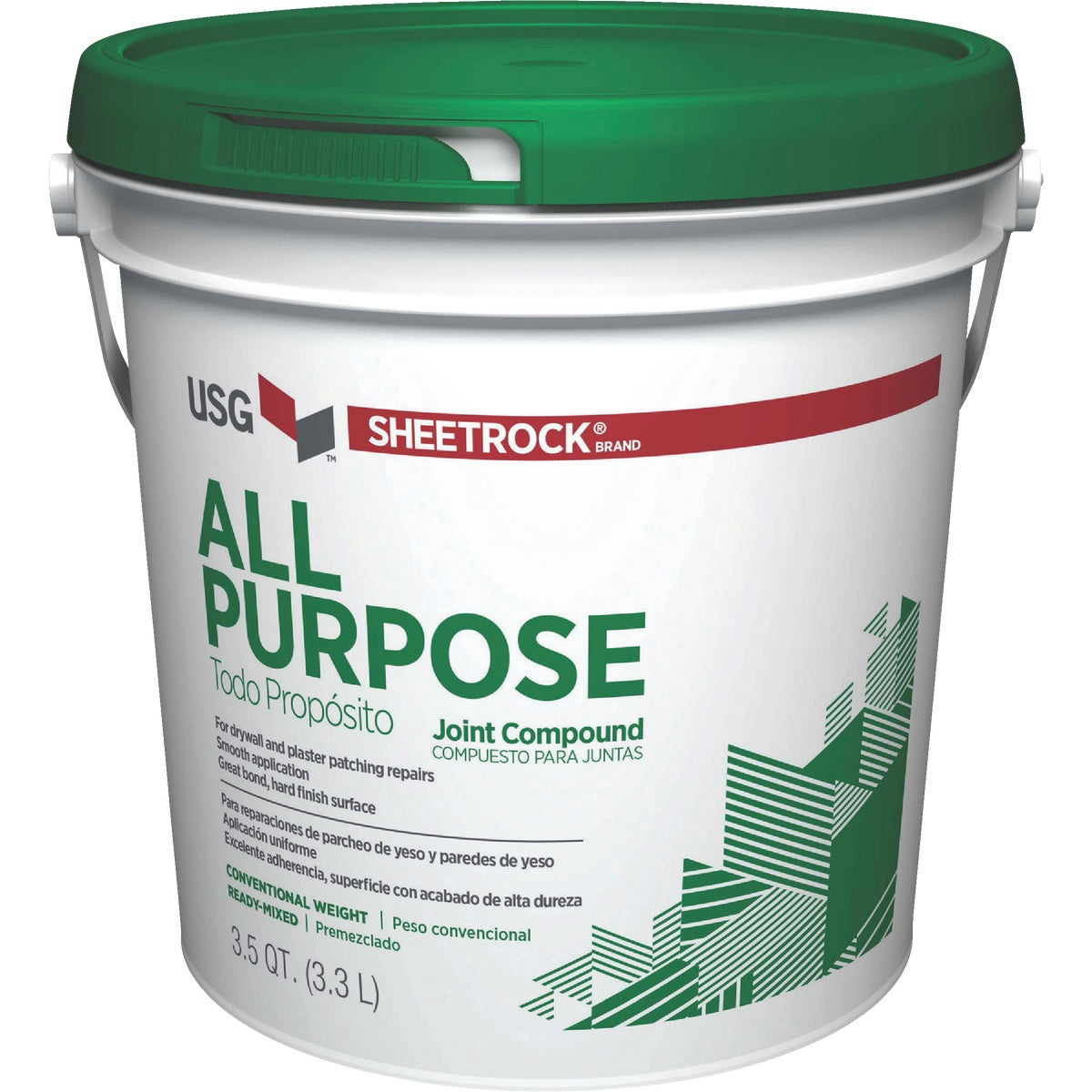12LB PAIL JOINT COMPOUND - 385140 by U S Gypsum