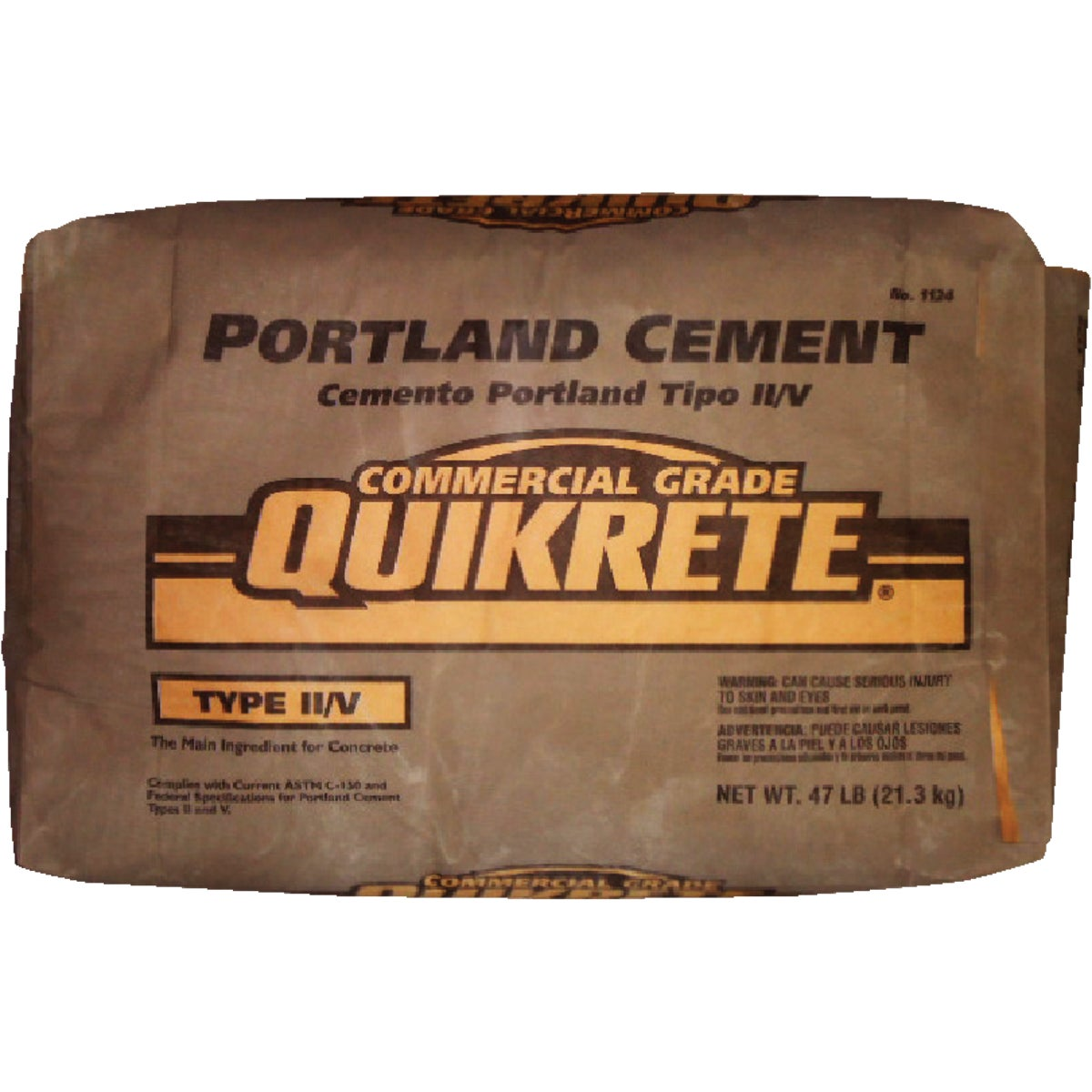 47LB II/V PORTLND CEMENT - 1124-47 by Quikrete Co