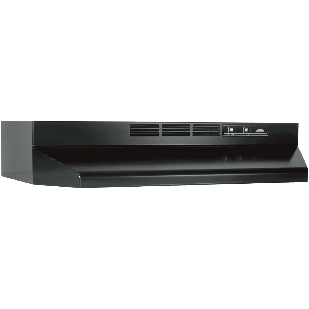 "30"" BLACK RANGE HOOD - 413023 by Broan Nutone"