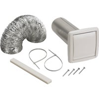 Exhaust Wall Vent Kit, WVK2A