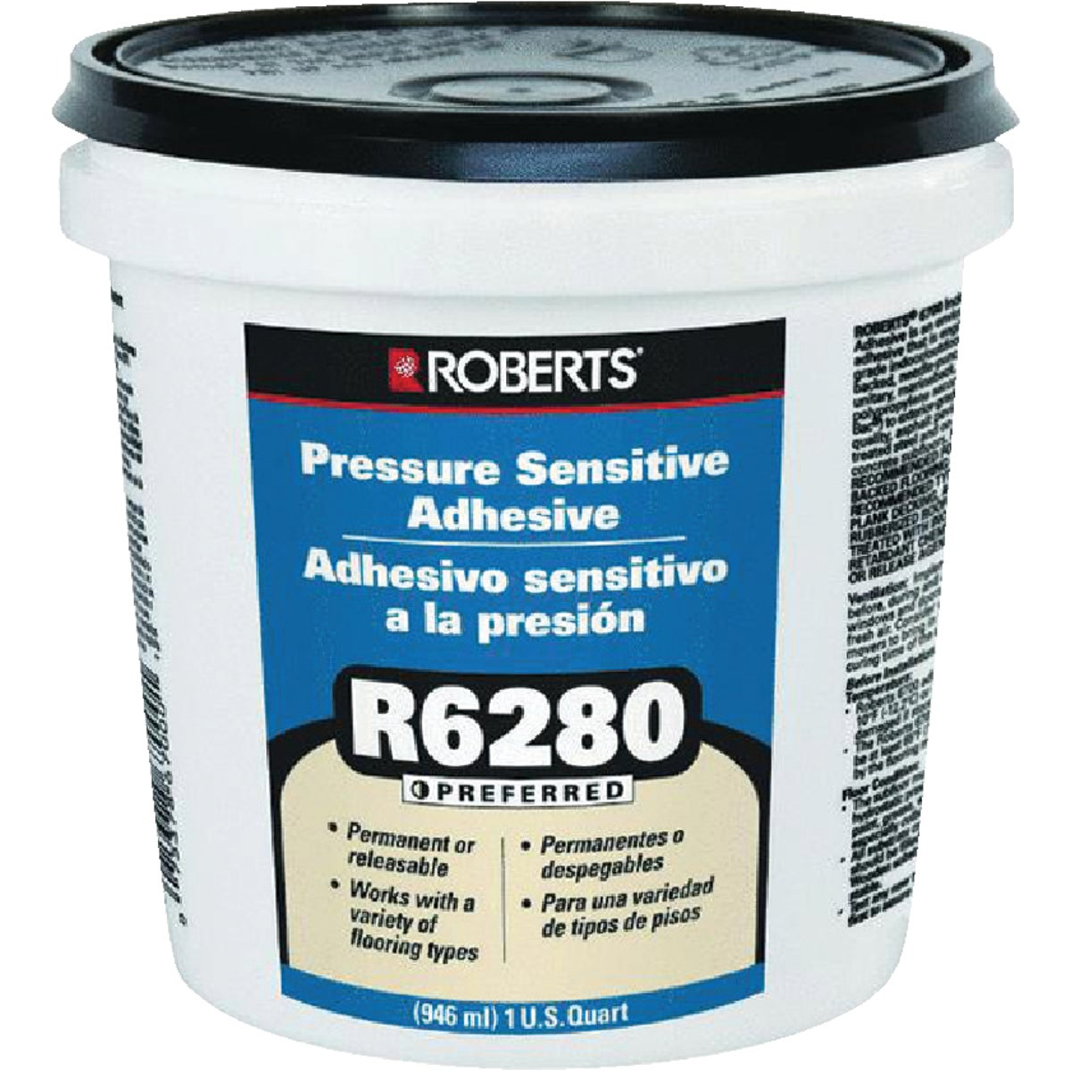 PRES SENSITIVE ADHESIVE - R6280-0 by Qep Co Inc Roberts