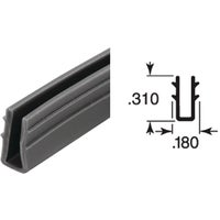 Prime Line 1/4 In. Glass Glazing Channel, P7738