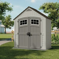 Suncast 7X4 Blow Molded Resin Storage Shed, BMS7400