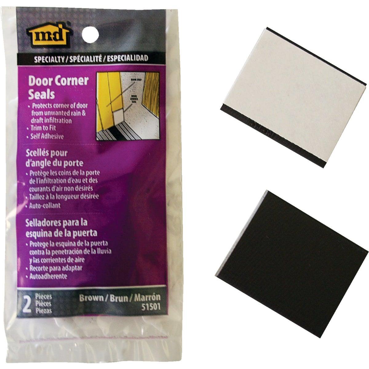 DOOR CORNER WEATHERSTRIP - 51501 by M D Building Prod
