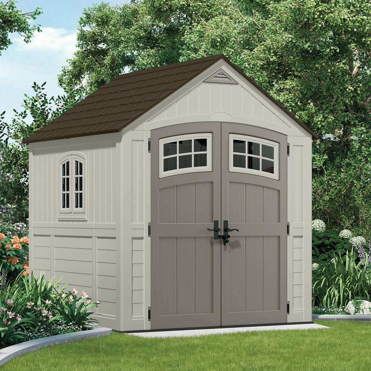 7X7 CASCADE BLOWMLD SHED