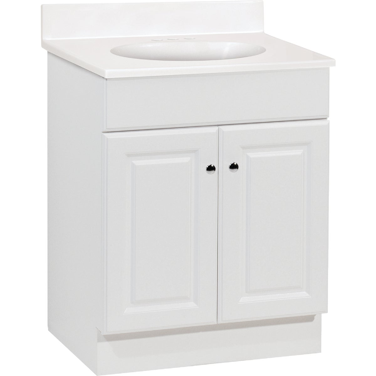"""RCHMD 24"""" WHT COMBO VAN - C14124A by RSI Home Products"""