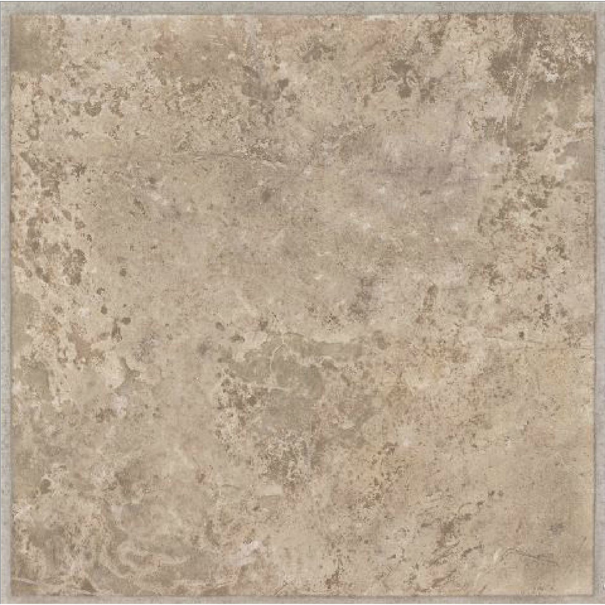 BEIGE STONE VINYL TILE - 25300 by Armstrong World Ind