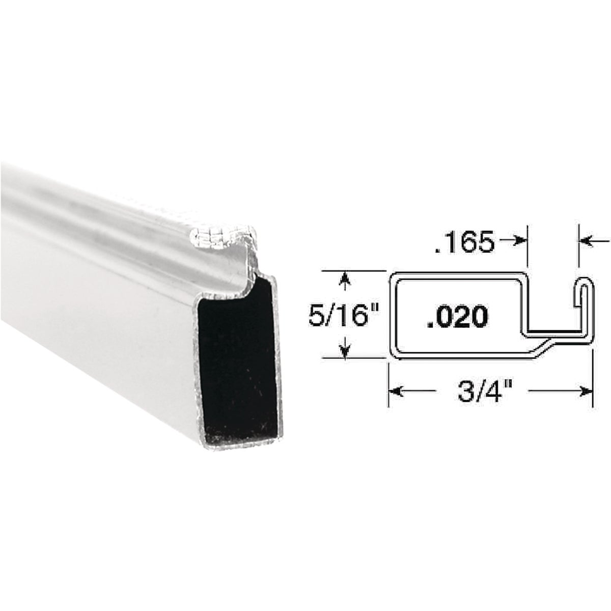 3/4X5/16X94WHT SCN FRAME - PL14080 by Prime Line Products