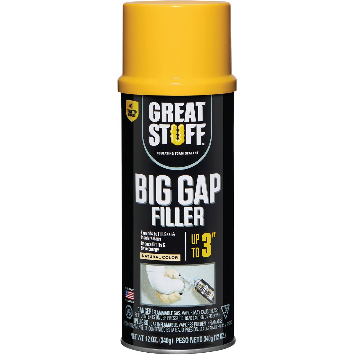 12OZ GAP FOAM SEALANT - 157906 by Dow Chemical Company