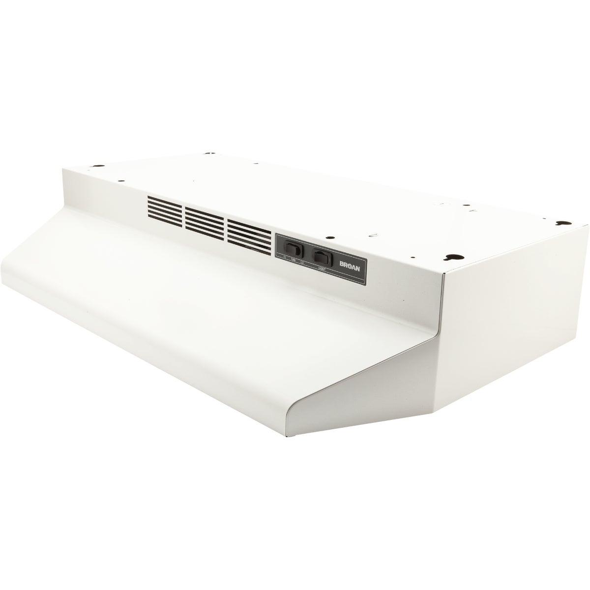 "30"" WHITE RANGE HOOD - 413001 by Broan Nutone"
