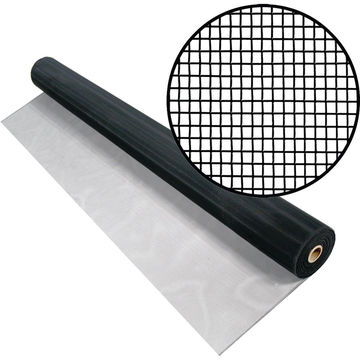 Aluminum Screen Cloth, 36X100 Black Alum