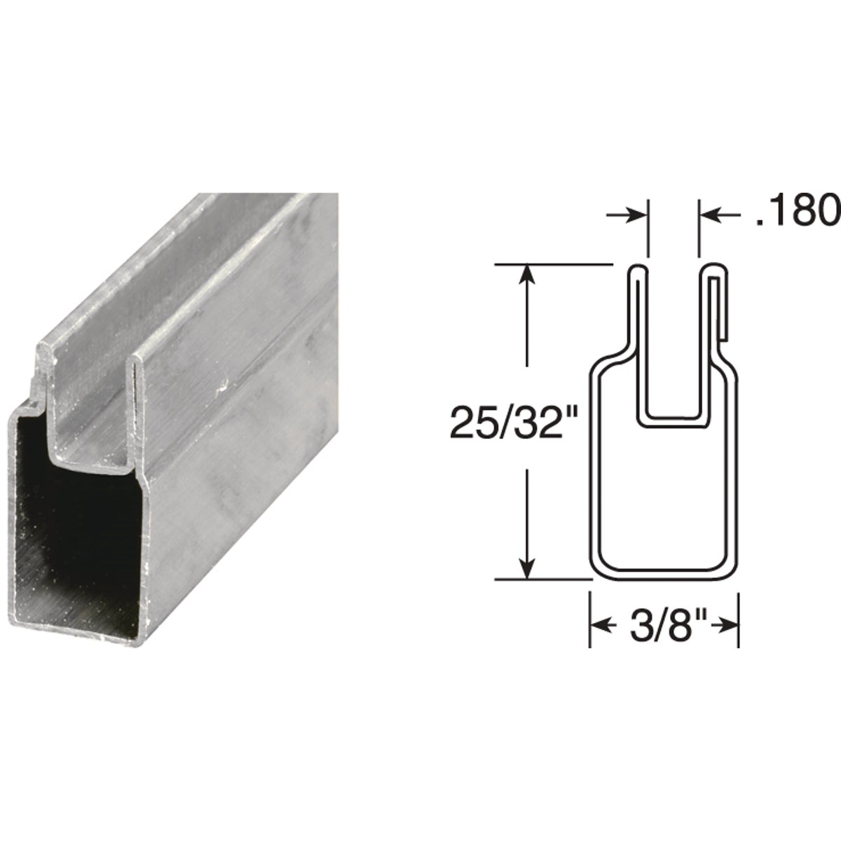3/8X25/32X72 ML WN FRAME - PL14152 by Prime Line Products