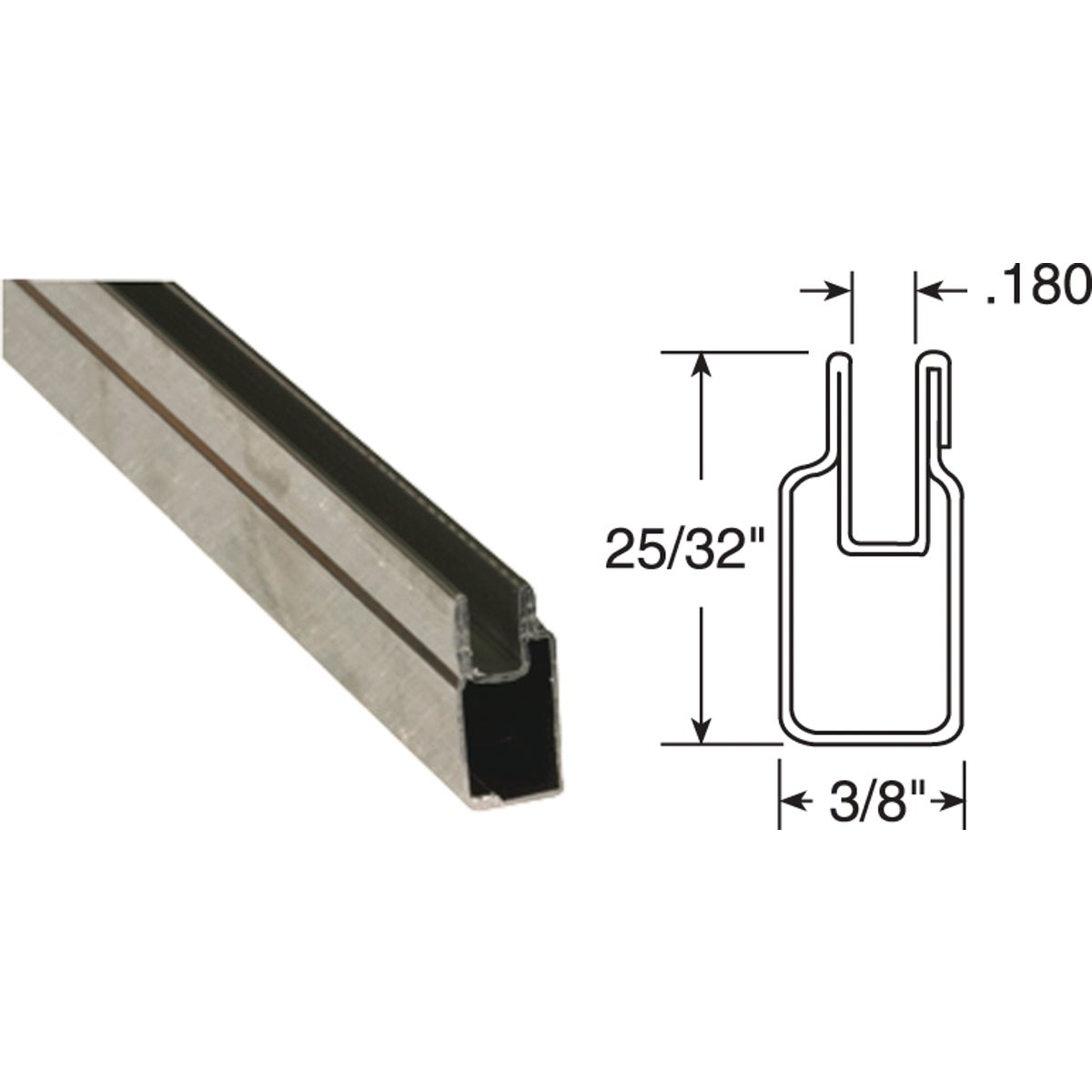 3/8X25/32X94 ML WN FRAME - PL14155 by Prime Line Products