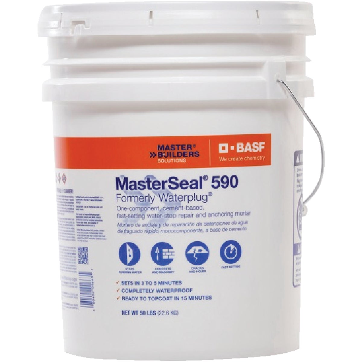 50LB WATERPLUG CEMENT - T1663 by Prime Source Pneumat