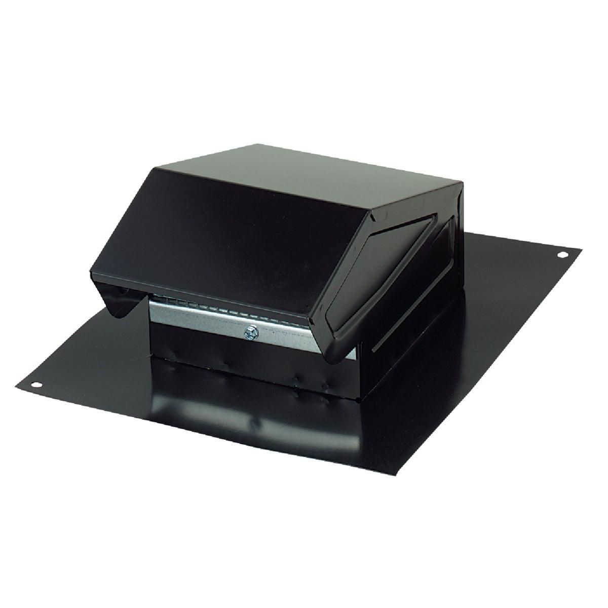 Broan-Nutone 3 In. or 4 In. Black Steel Roof Vent Cap