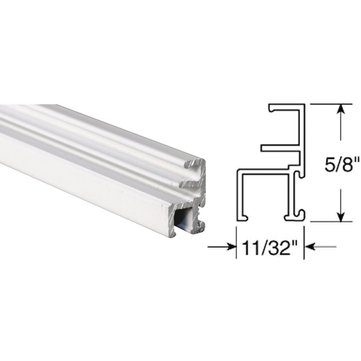 11/32X5/8 T&S TT S FRAME - PL14203 by Prime Line Products