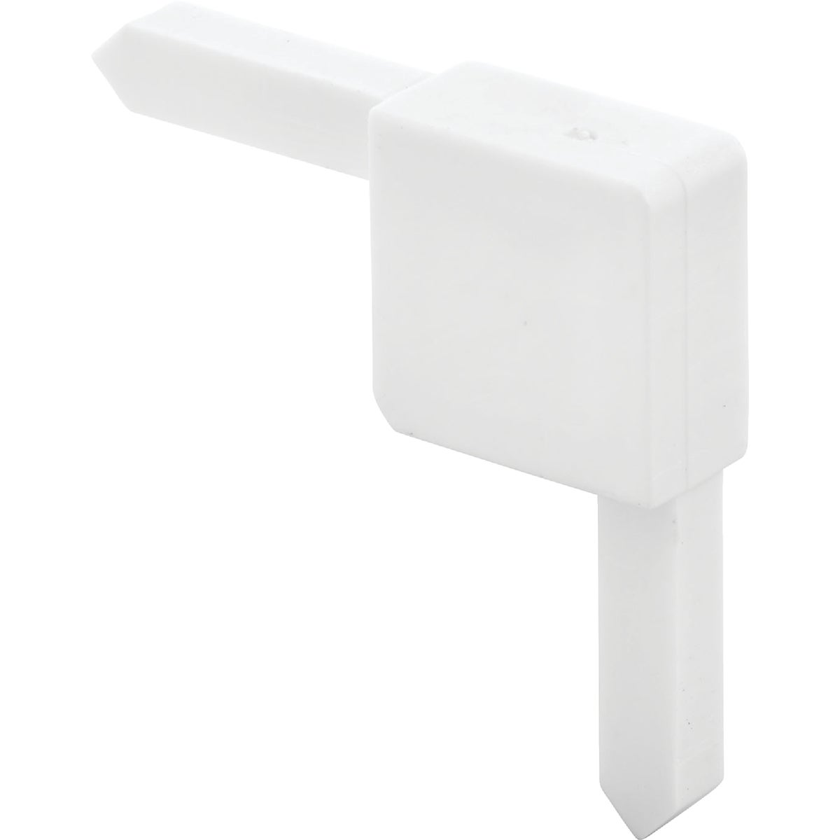 WHITE SQ CUT SASH CORNER - PL14323 by Prime Line Products