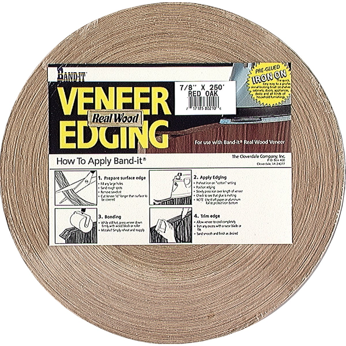 "3/4""X250' VENEER EDGING - 40210 by Cloverdale Co Inc"