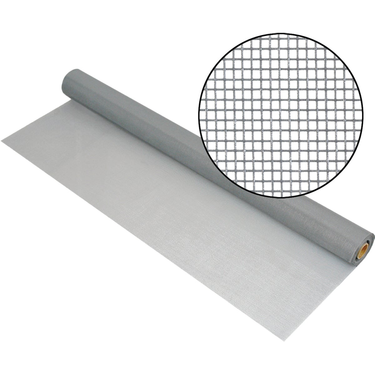 "48""X100'GRAY FBGL SCREEN - FCS8847M by New York Wire"