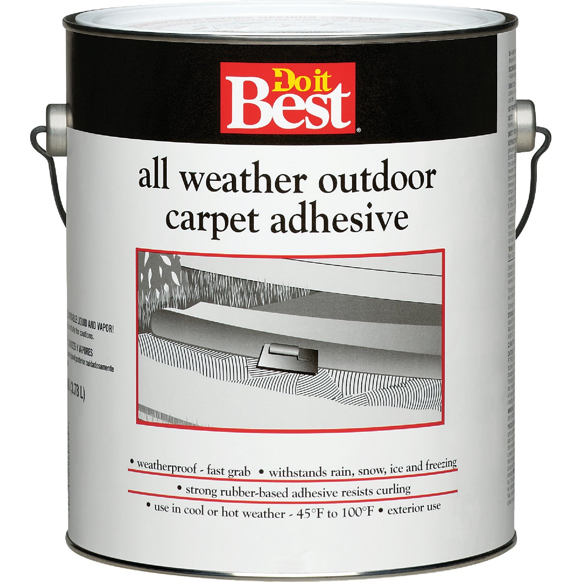 Do it Best All Weather Outdoor Carpet Adhesive, Gallon