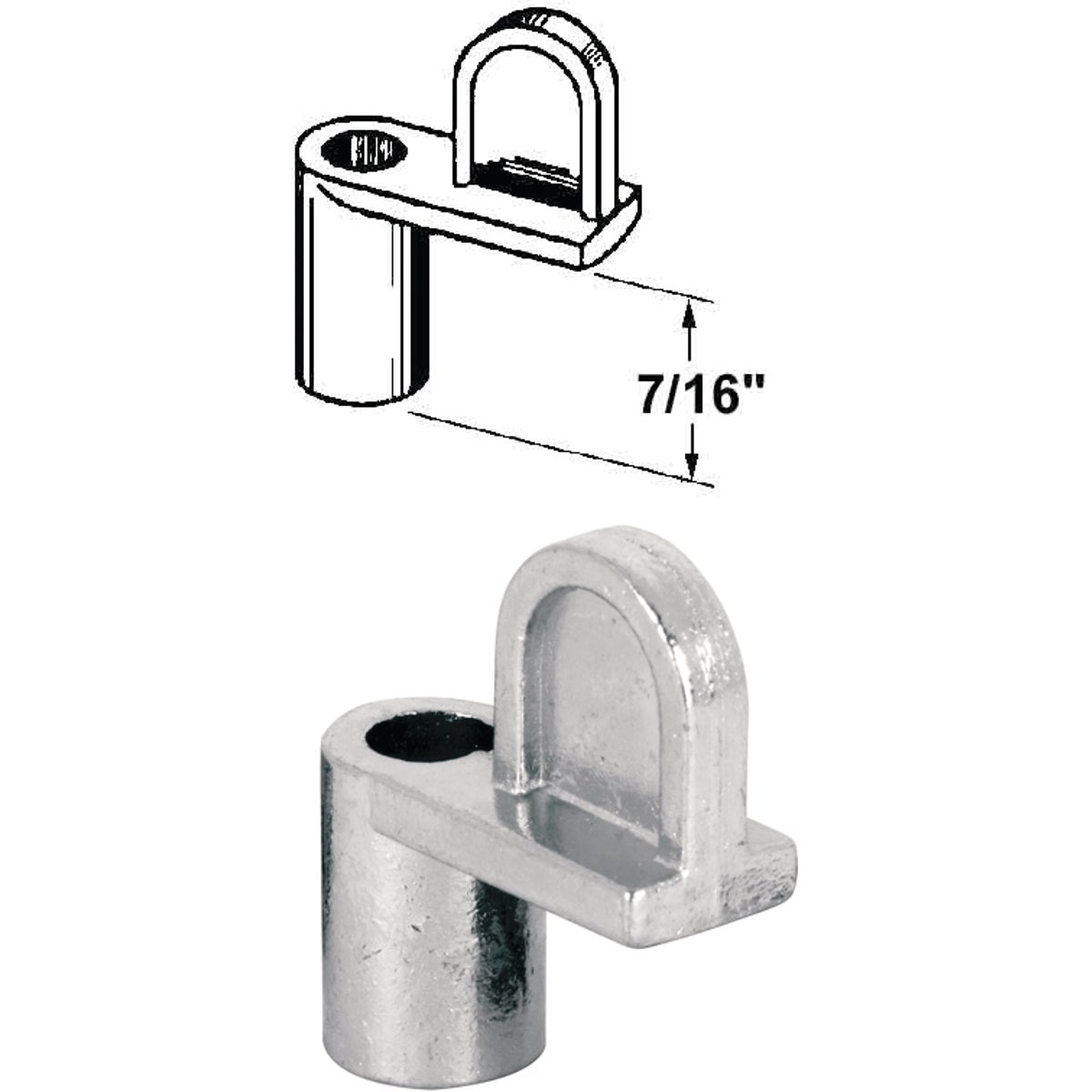 Swivel Die-cast Screen Clips with Screws