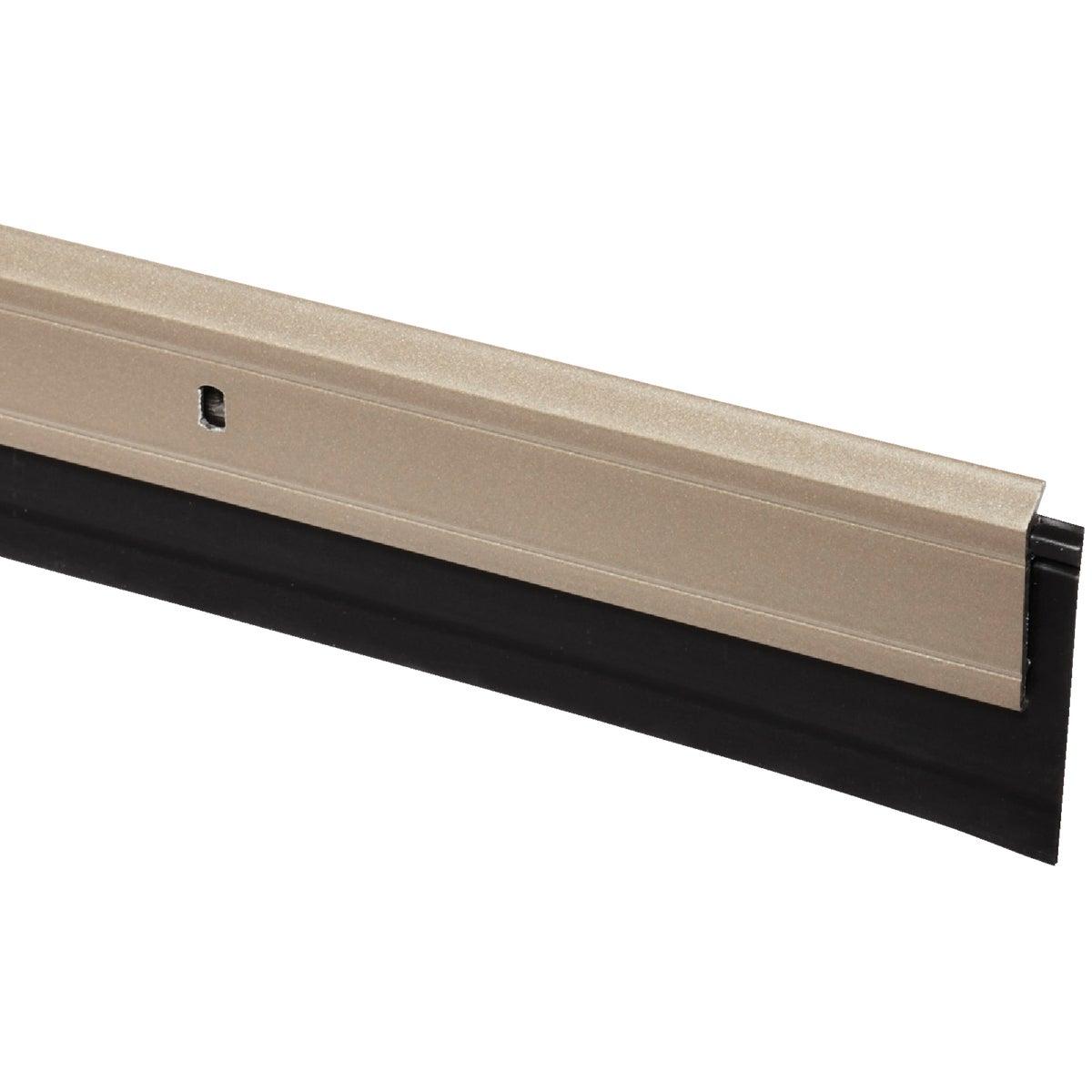 Heavy-Duty Aluminum And Vinyl Door Sweep