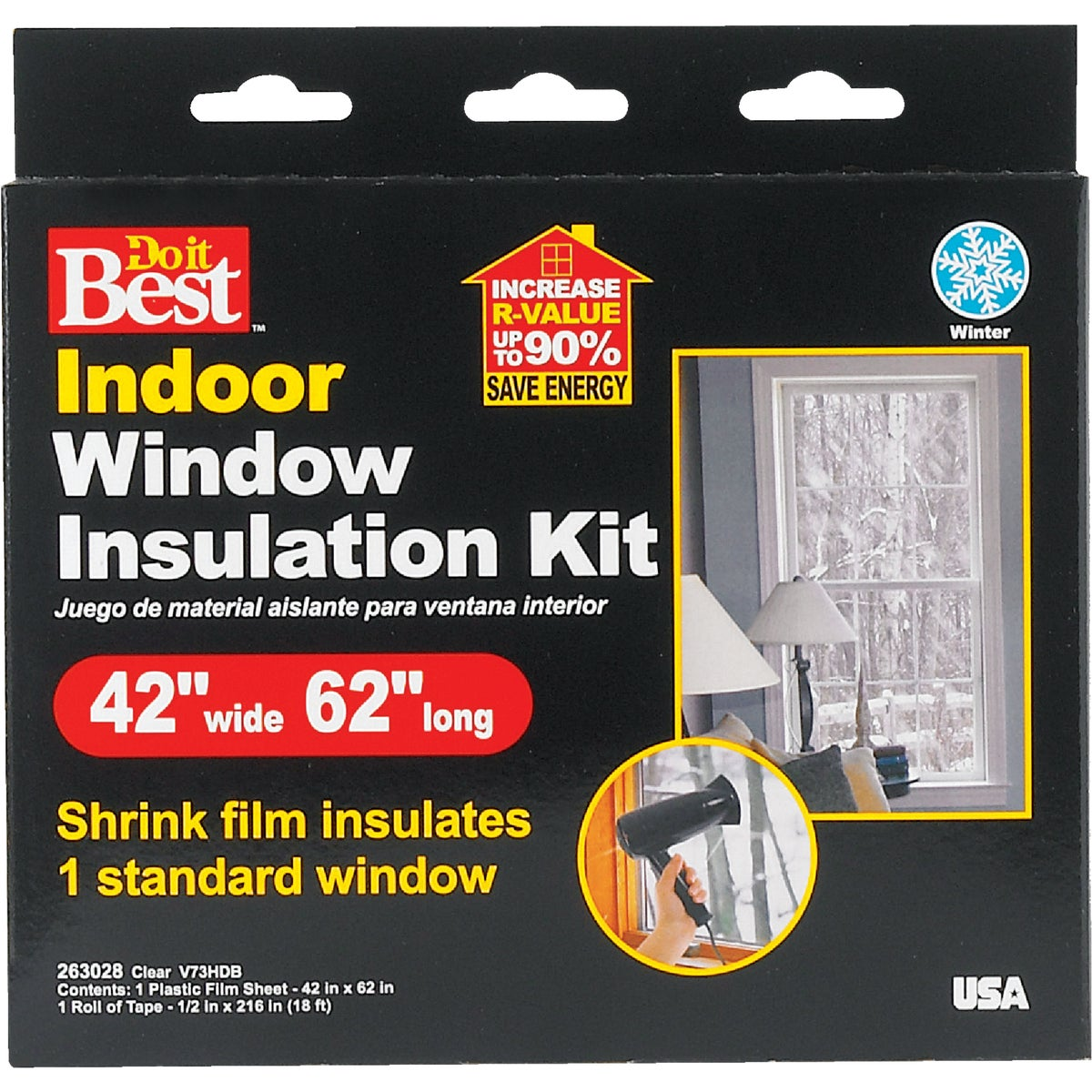 1PK SHRINK WINDOW KIT