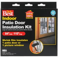 Thermwell Prods. Co. PATIO DOOR SHRK FILM KIT V76HDB