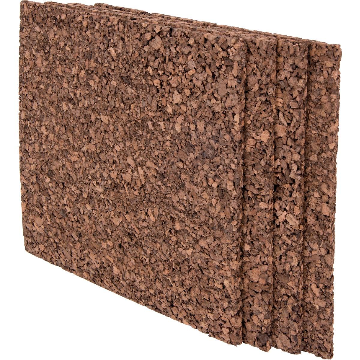 12X12 Dark Tile Cork