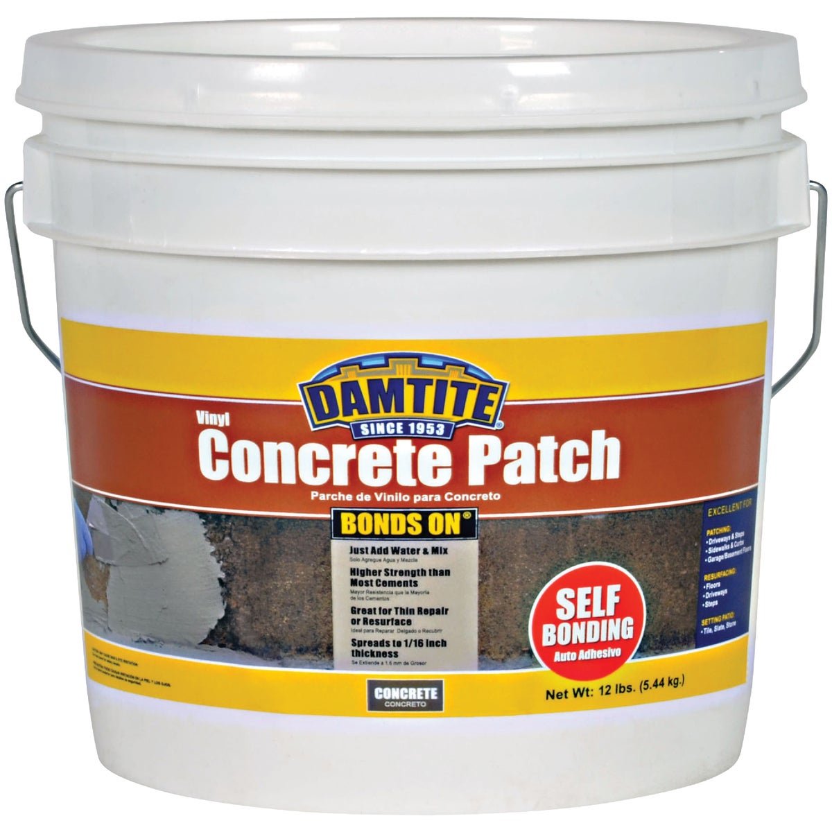 Thoro Consumer Products 12LB THOROCRETE PATCH T5020