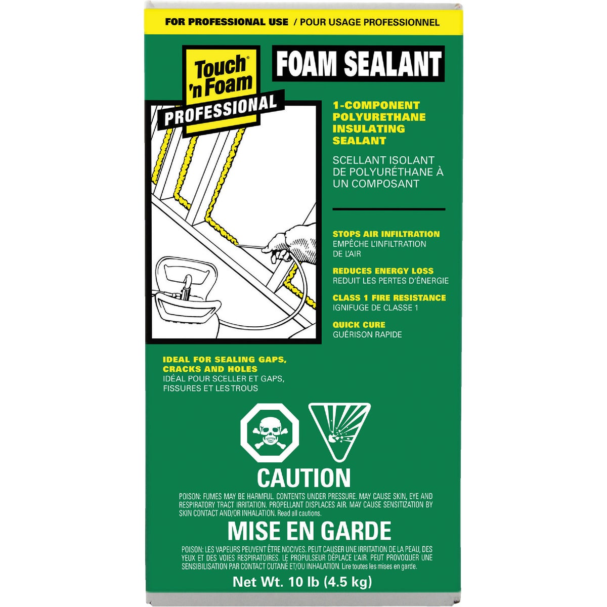 10LB CYLNDR FOAM SEALANT - 4001110001 by Convenience Products