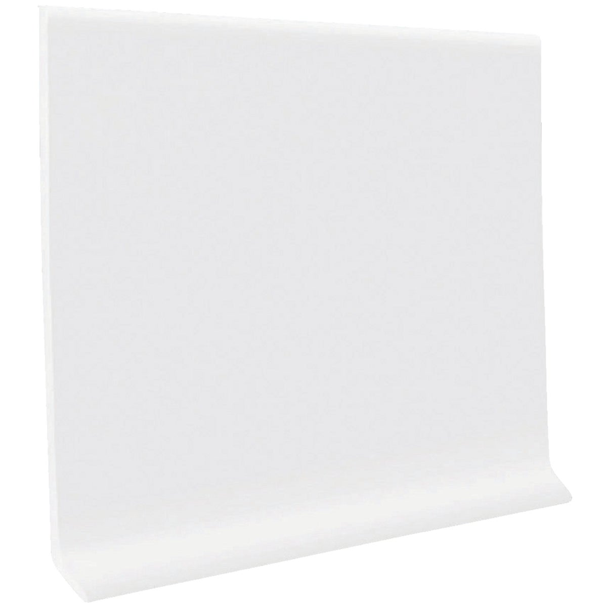 "4""X4' WHITE WALL BASE - H1640C54P161 by Roppe Corporation"