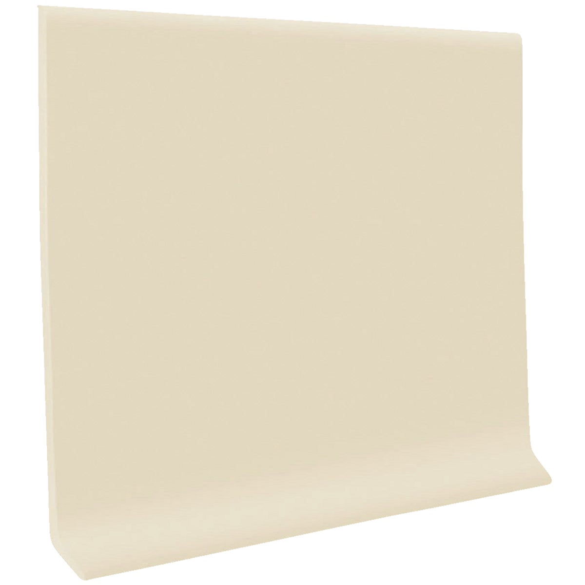 "4""X4' ALMOND WALL BASE - H1640C53P184 by Roppe Corporation"